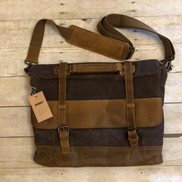 Newhey laptop briefcase messenger bag 58e5aba78db3d